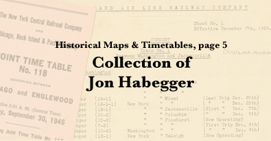 Historical Railroad Maps & Timetables, Page 5: Collection of ... on ma railroad map, gt railroad map, nys&w railroad map, sp railroad map,
