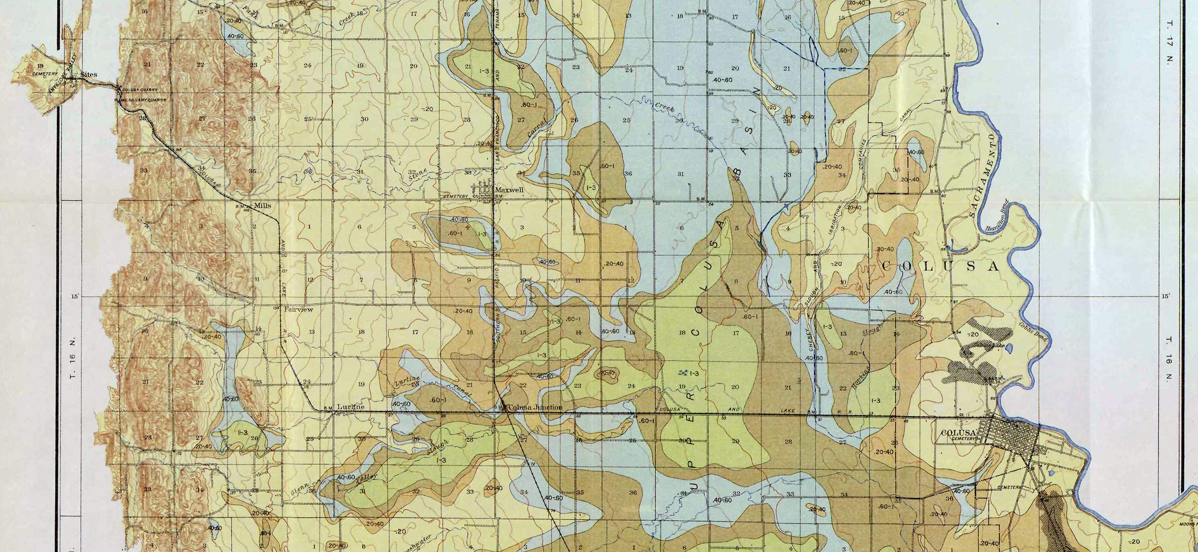 Historical Railroad Maps & Timetables, Page 1: Wx4 Collection
